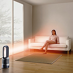 Only Dyson purifier heaters have Jet Focus Control