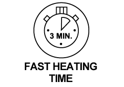 Fast Heating Time
