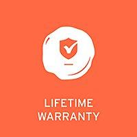 Lifetime Manufacturer's Guarantee