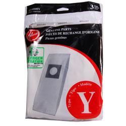 Genuine Allergen Performance Vacuum Bags, Hoover type Y